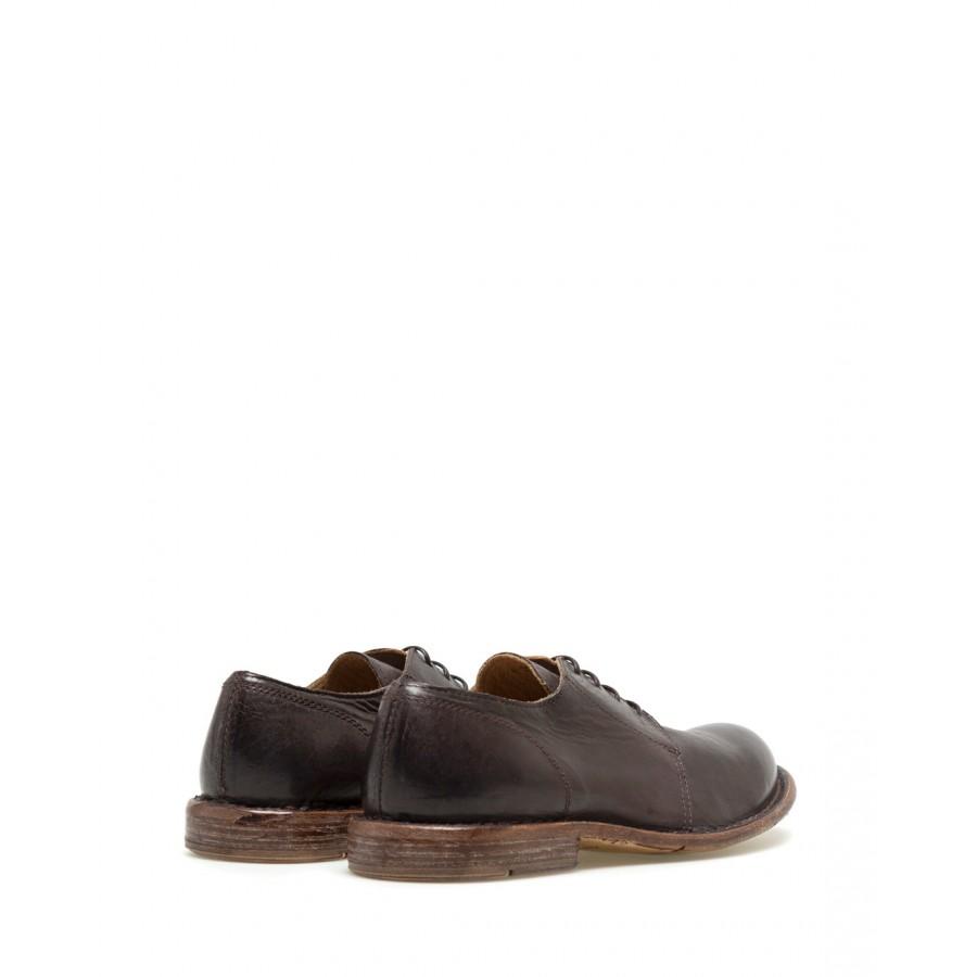 Zapatos Clásicos Mujer MOMA 1AS130 Sombrero Coffee Cuero Marron