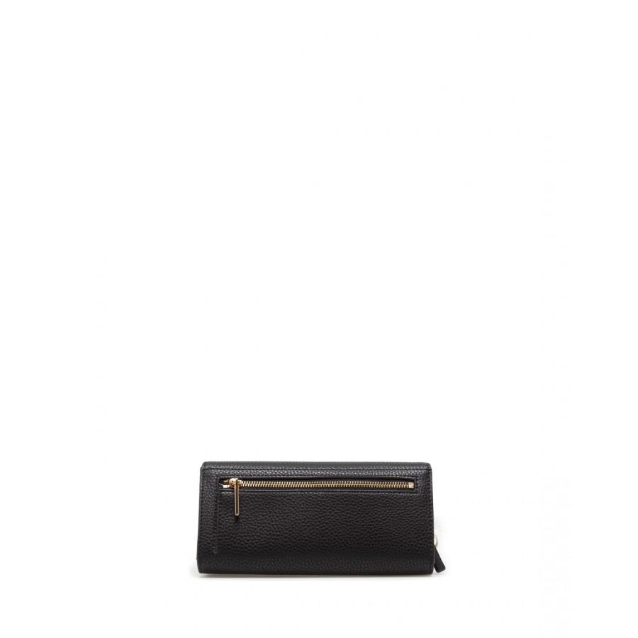 Women's Wallet LIU JO Milano AA1252E0027Nero Pelle Synthetic Leather Black