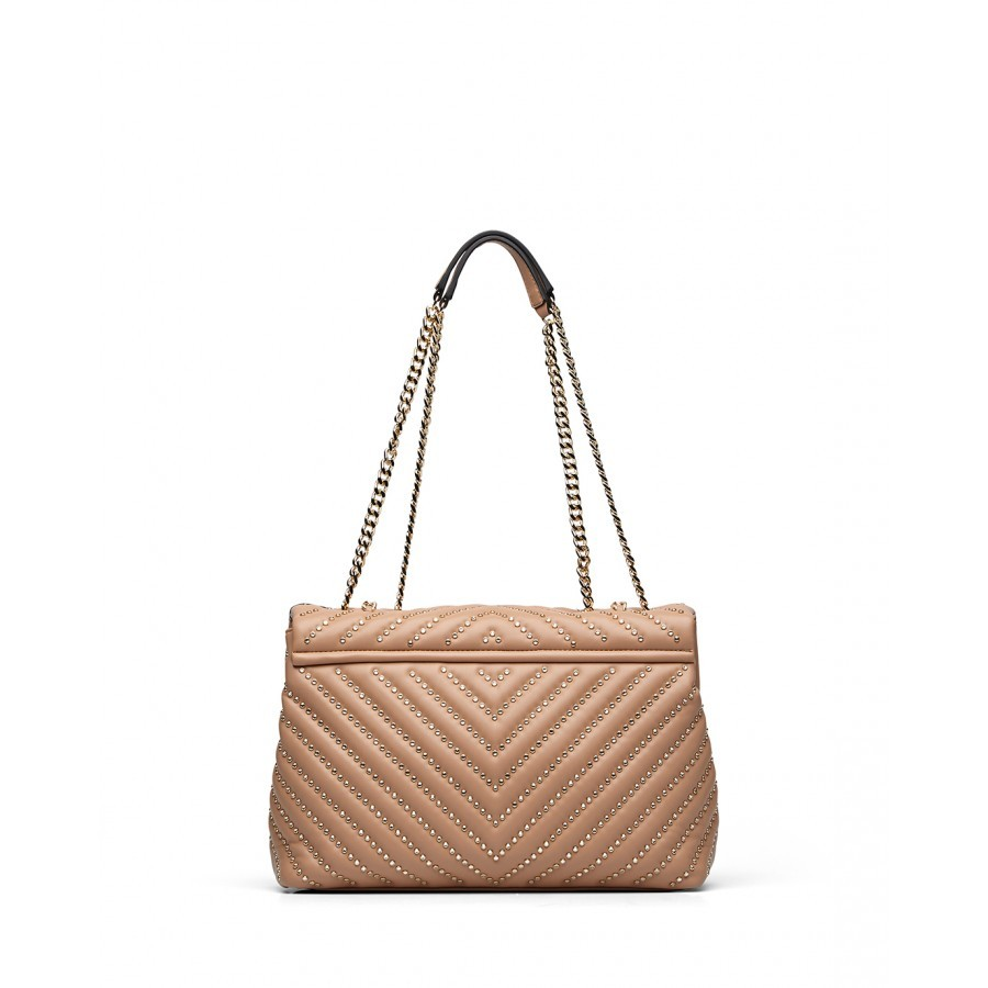 Woman's Shoulder Bag LA CARRIE WM350 Micro Synthetic Leather Skin