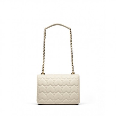 Women's Shoulder Bag LOVE MOSCHINO JC4248 Pu Synthetic Ivory