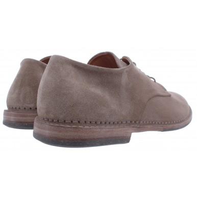 Men's Shoes PANTANETTI 13404B Soffice Antilop Suede Gray