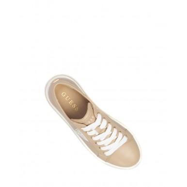 Women's Shoes Sneakers GUESS FL6PRTELE12 Sesa Syntethic Beige