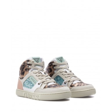 Women's Shoes Sneakers GUESS FL5JS2ELE12 White Synthetic