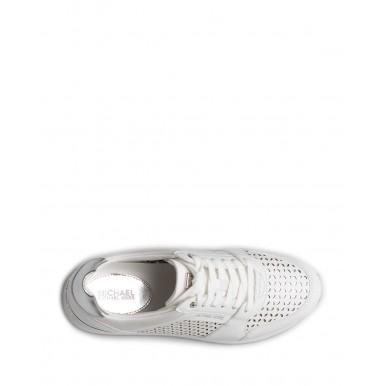 Women's Sneakers MICHAEL KORS Billie 43R1BIFS2L Optic White Leather