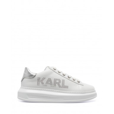 Women's Sneakers KARL LAGERFELD KL6252001S White Silver Leather
