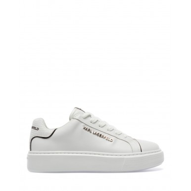 Women's Sneakers Shoes KARL LAGERFELD KL62221011 White Leather