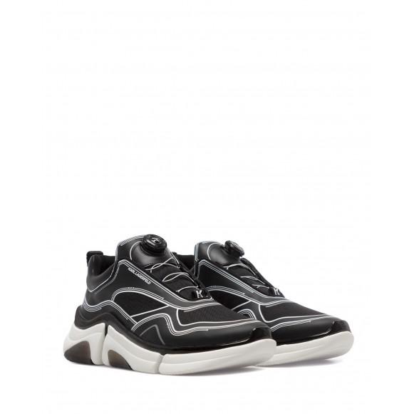 Sneakers Uomo KARL LAGERFELD KL51725YX0 Black Cordura Sintetico Nero