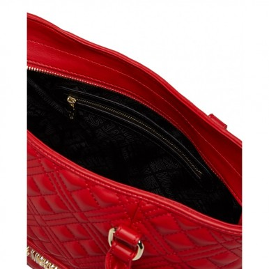 Women's Hand Shoulder Bag LOVE MOSCHINO JC4203 Pu Rosso Synthetic Red