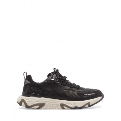 Men's Sneakers Shoes KARL LAGERFELD KL52420000 Black Leather
