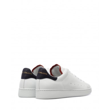 Men's Sneakers OFFICINE CREATIVE Mower 005 Bluprint Leather White
