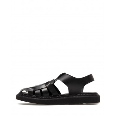 Women's Sandals OFFICINE CREATIVE Ulla 005 Nappah Nero Leather Black