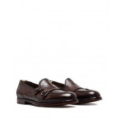 Men's Shoes Loafers OFFICINE CREATIVE Ivy 014 Canyon Ebano Leather Brown