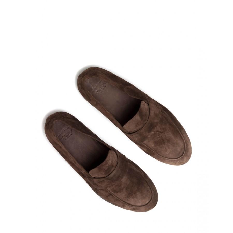 Men's Loafers OFFICINE CREATIVE Airto 001 Guya TMoro Suede Brown