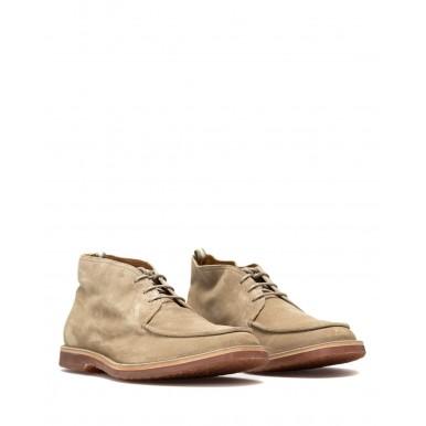 Men's Ankle Boots OFFICINE CREATIVE Kent 002 Softy Antilope Suede Beige