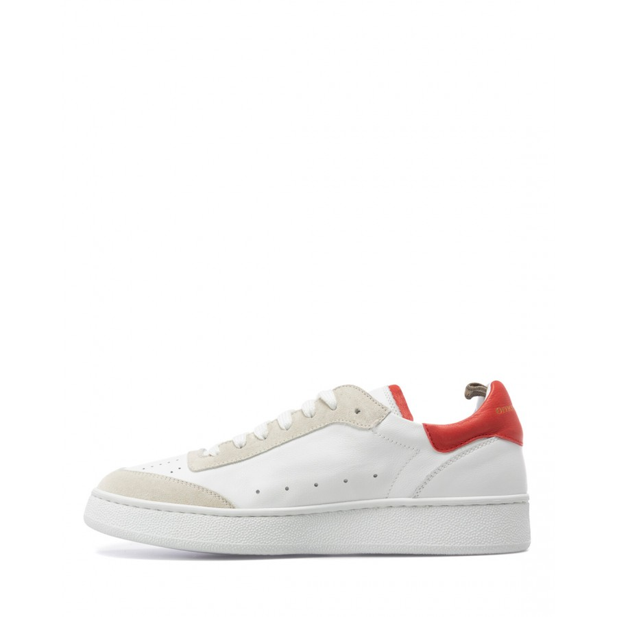 Women's Shoes Sneakers OFFICINE CREATIVE Mower 107 MB03 Leather White