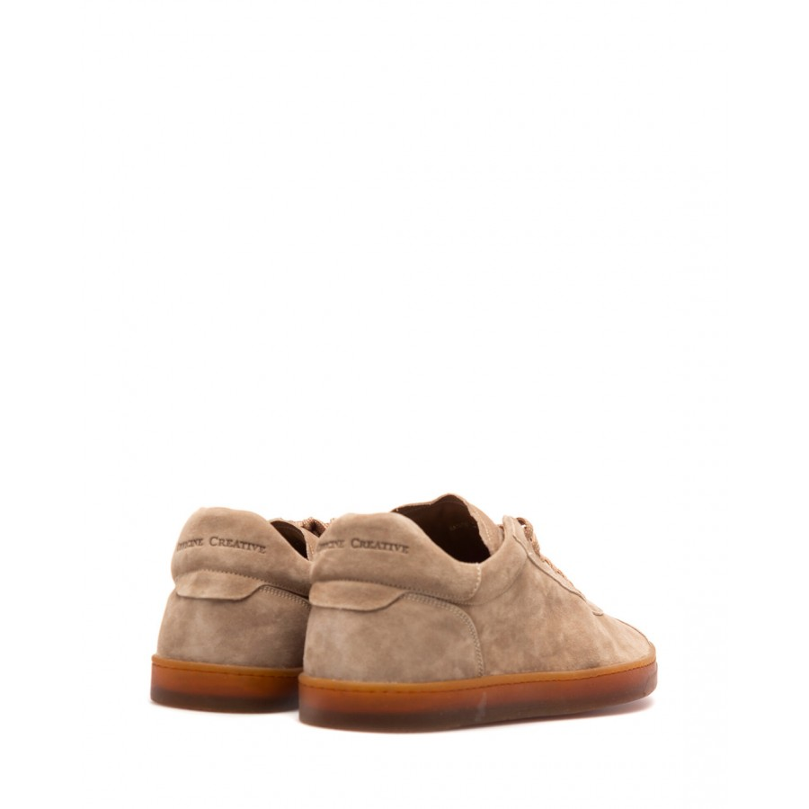 Men's Sneakers OFFICINE CREATIVE Karma 001 Oliver Toasted Suede Beige