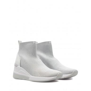 Women's Sneakers MICHAEL KORS Skyler 43S1SKFE1D Slate Canvas Gray