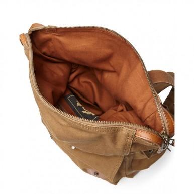 Men's Bag Backpack BELSTAFF 75700023 Covert Beige Canvas