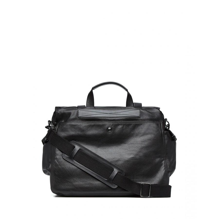 Men's Shoulder Bag BELSTAFF 75700025 Mess 812 Black Leather