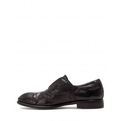 Men's Shoes PREVENTI Milton Black Leather Vintage Goodyear