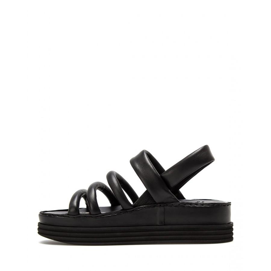 Women's Shoes Sandals iXOS Tokyo Nero Leather Black