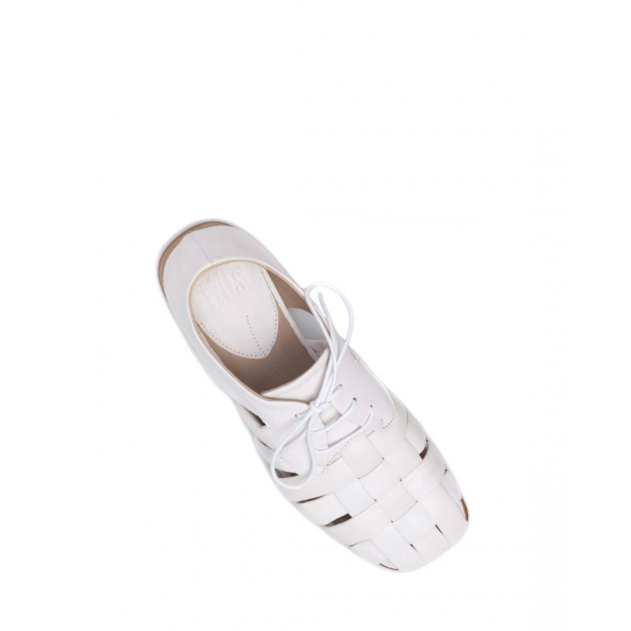 Women's Shoes Sandals iXOS E00020 Tokyo Gesso Leather White