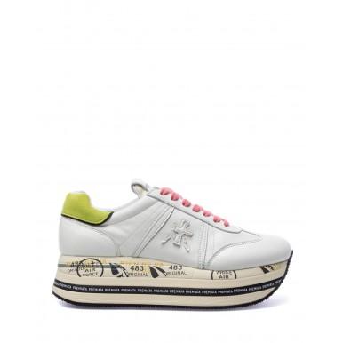 Women's Shoes Sneakers PREMIATA Beth 5347 Leather White