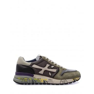 Men's Shoes Sneakers PREMIATA Mick 5338 Nylon Leather Gray