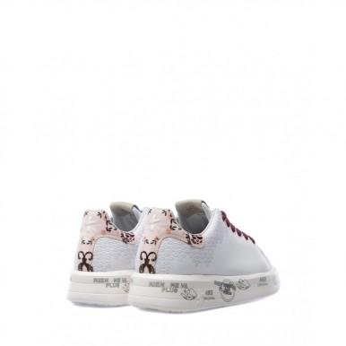 Women's Shoes Sneakers PREMIATA Belle 5387 Leather White
