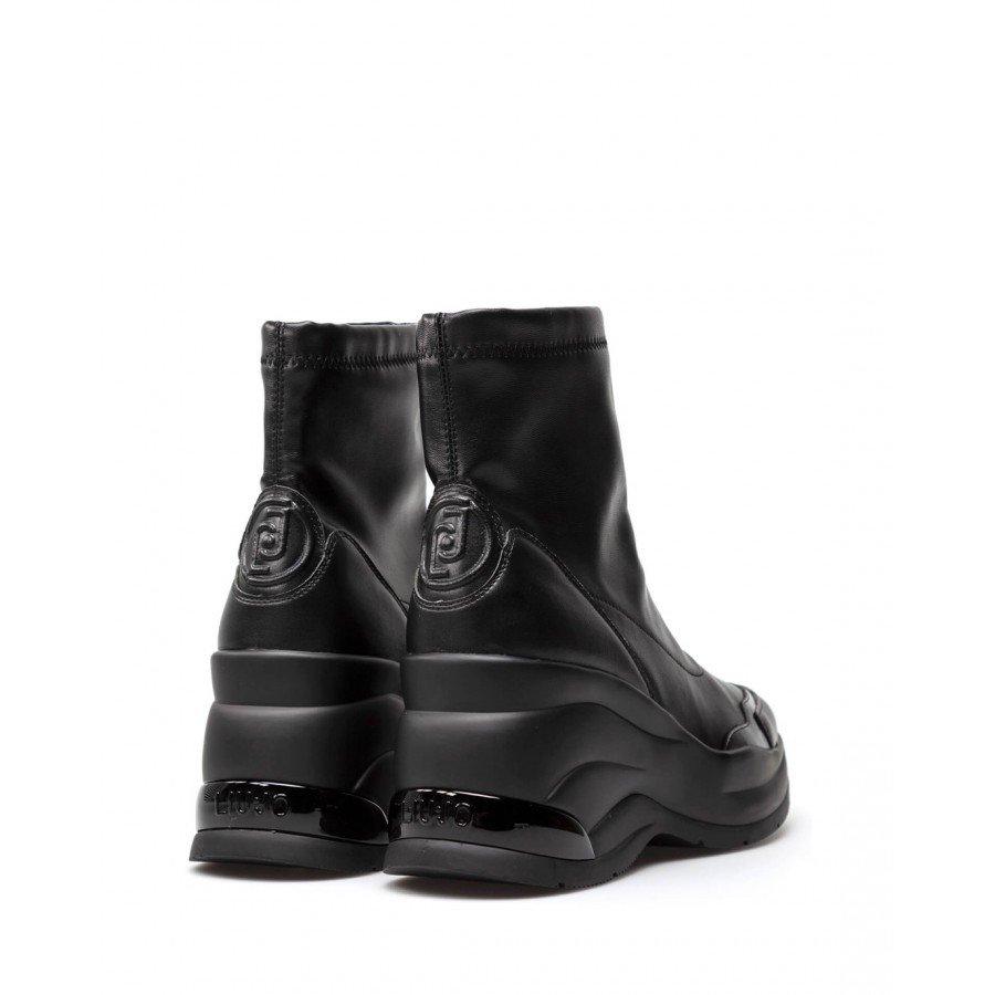 Women's Shoes Ankle Boots LIU JO Milano Karlie Revolution 47 Stretch Black