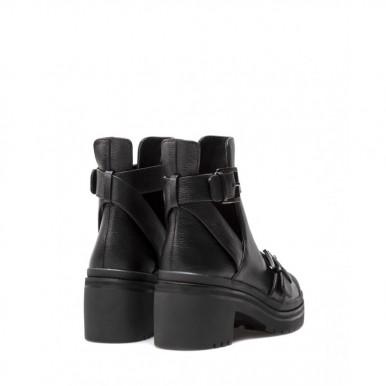 Women's Shoes Ankle Boots MICHAEL KORS Corey Black Leather
