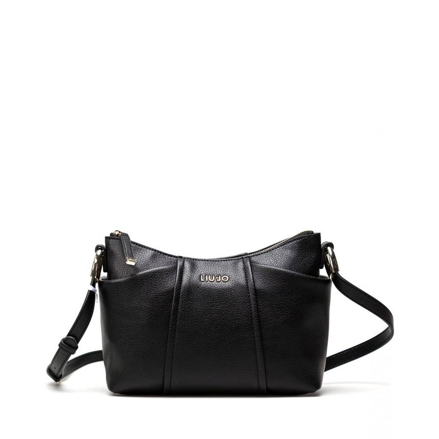 Women's Shoulder Bag LIU JO Milano AF1168 E0027 Synthetic Black