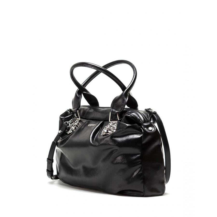 Women's Hand Shoulder Bag LIU JO Milano AF1162 E0004 Synthetic Black