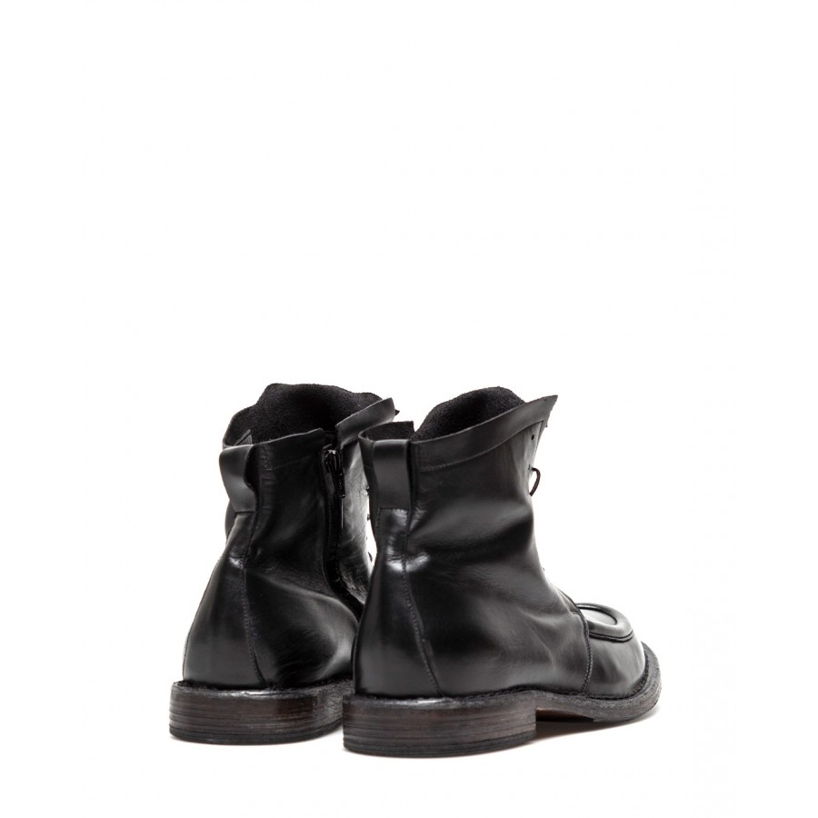 Men's Shoes Ankle Boots MOMA 2CW002 Calf Leather Black