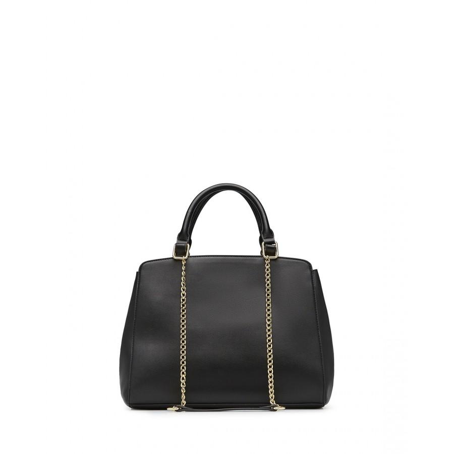 Women's Hand Shoulder Bag LOVE MOSCHINO JC4129 Pu Synthetic Black