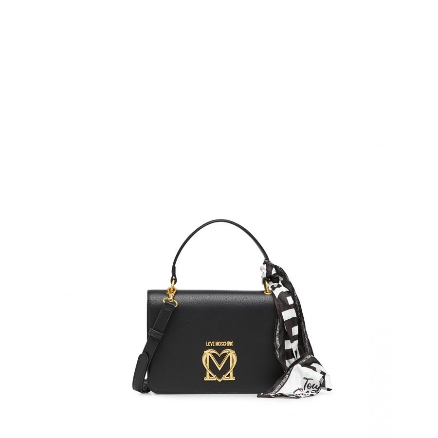 Women's Hand Shoulder Bag LOVE MOSCHINO JC4209 Pu Synthetic Black