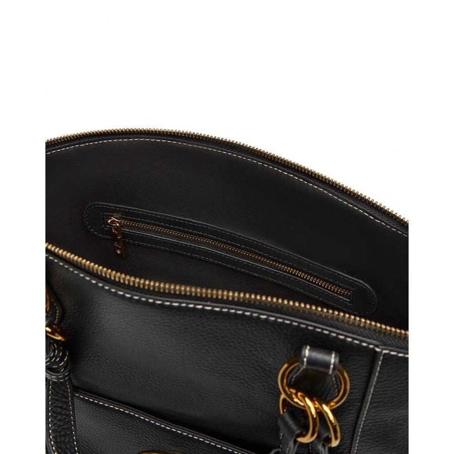 Women's Hand Shoulder Bag LOVE MOSCHINO JC4227 Calf Leather Black
