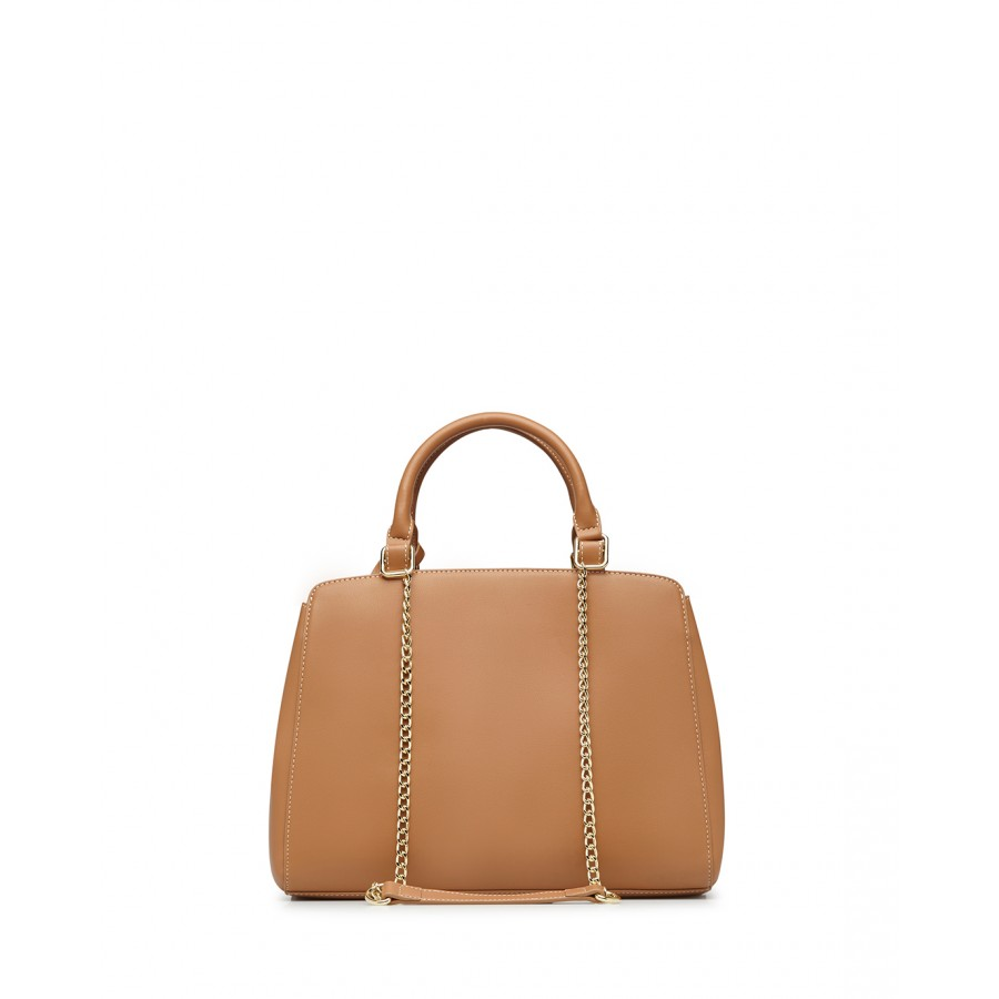 Women's Shoulder Bag LOVE MOSCHINO JC4192 Pu Synthetic Camel Brown