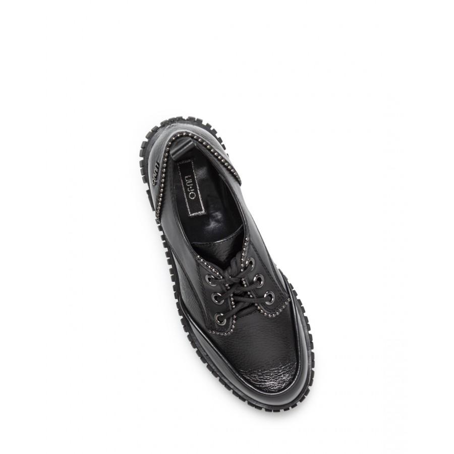Women's Shoes LIU JO Milano Luna 04 Black Leather