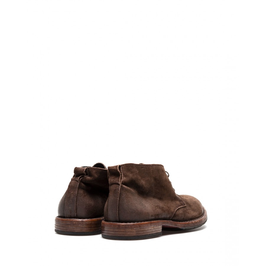 Men's Shoes Ankle Boots MOMA 2BW006 Beat Coffee Leather Brown