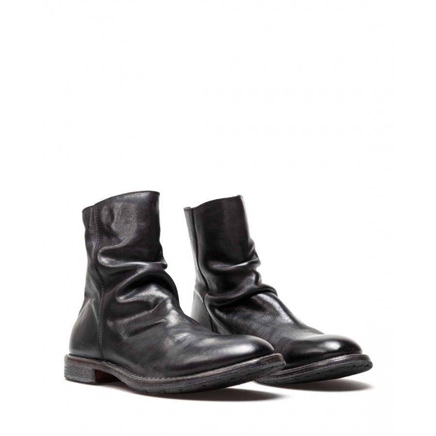 Men's Shoes Ankle Boots MOMA 2CW246 Cusna Leather Black