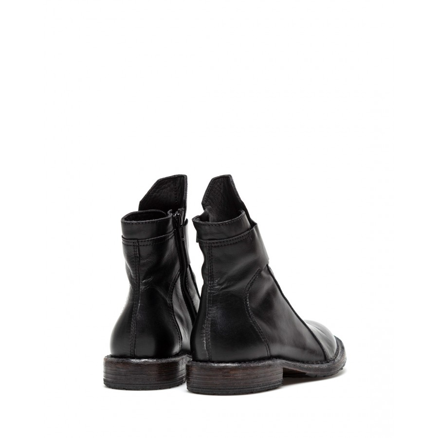 Women's Shoes Ankle Boots MOMA 1CW196 Calf Leather Black