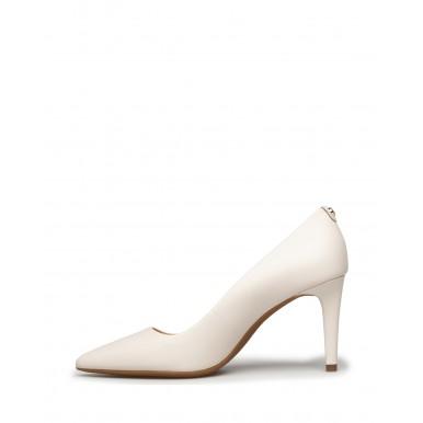 Women's Heels Shoes MICHAEL KORS Dorothy 40F8DOMP1L Lt Cream Leather Beige