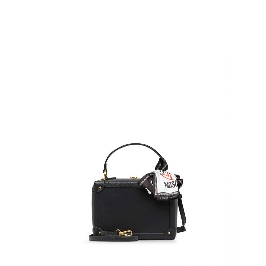 Women's Hand Shoulder Bag LOVE MOSCHINO JC4214 Pu Black Synthetic Leather