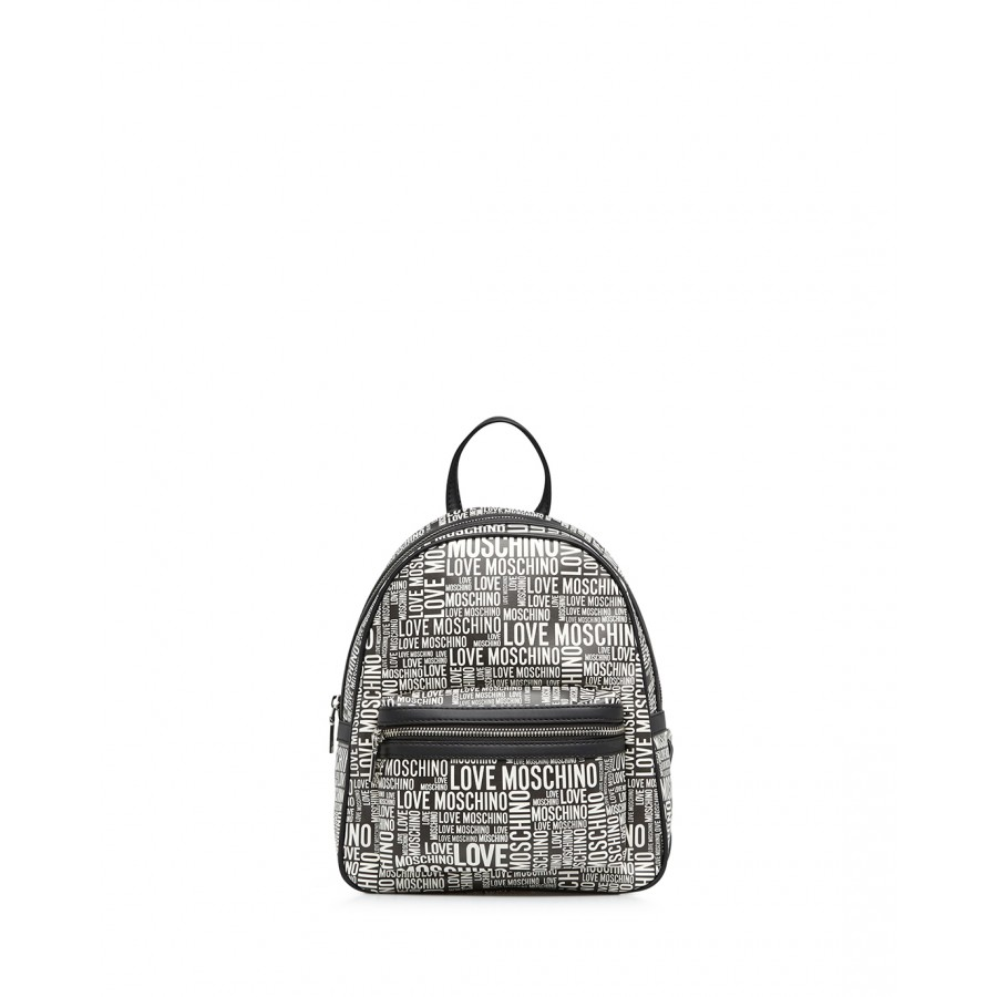 Women's Bag Backpack LOVE MOSCHINO JC4157 Pu Black Synthetic Leather