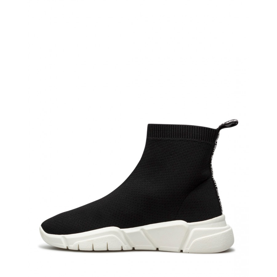 Women's Sneakers Shoes Sock LOVE MOSCHINO JA15343 Black