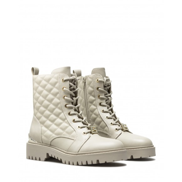 Women\'s Ankle Boots Shoes GUESS FL7OMAELE10 Vanil Cream