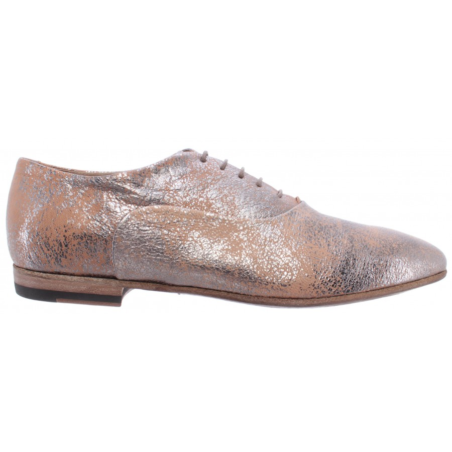 Women's Classic Shoes PANTANETTI 13152D Marmor Fucile Beig Leather