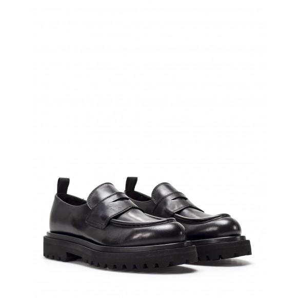 Women\'s Shoes OFFICINE CREATIVE Wisal 001 St Moritz Leather Black