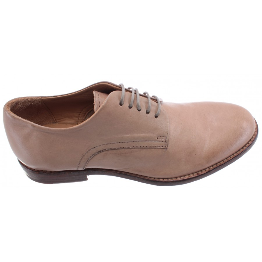 Women's Classic Shoes MOMA 1AS025-FL Florence Pietra Leather Beige